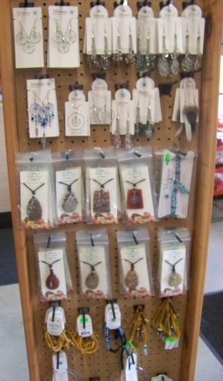 The Wahta Station Jewellery Display 1