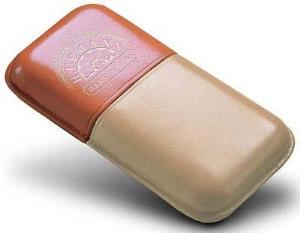 H. Upmann Leather Cigar Pouch - 3 Cigars