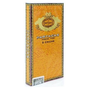Partagas Puritos Chicos Cello 5 Pkg