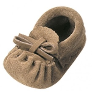 Laurentian Chief Baby Moccasin Insole Indian Tan