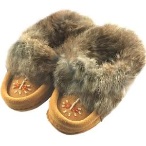 Laurentian Chief Fur Moccasin