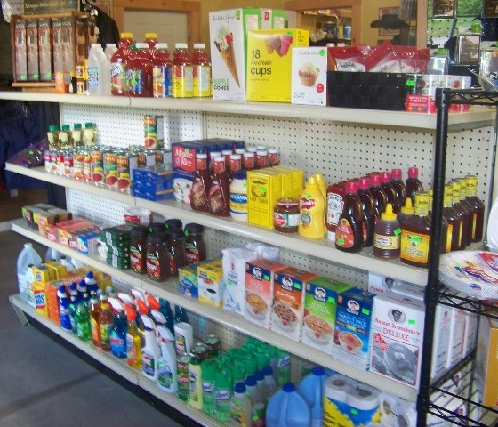 Wahta Groceries Shelves 1
