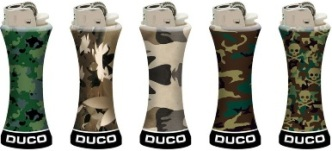 Duco Camouflage Lighters